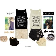 """Best Friends Outfit"" by laurasaltiban on Polyvore"