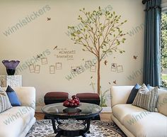 Vinyl+Wall+Decal+tree+decal+Nature+Design+Tree+Wall+Decals+Wall+stickers+Nursery+wall+decal+wall+art------+photo+tree+decals