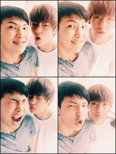 rapmon and taehyung's twitter update  Aka my babies