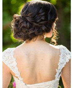 wedding hairstyle idea; Photography: Terra Cooper