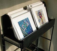 Photography Displays for Art Shows | Photographs displayed in clear bags from Impact Images