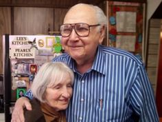 the Katydid on Love, Home and Health: Morty and Lee Kaufman: The Swiffer Commercial Couple and Their Vintage Love Story http://www.lovehomeandhealth.com