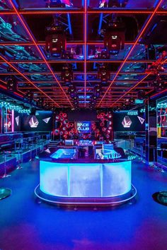 disco bar counter custom built commercial furniture Bar