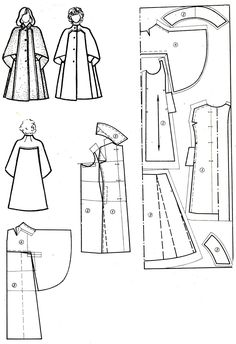 Would love to make this but my skills aren't of that level . . . yet - however was helpful for putting in seam&hem allowance