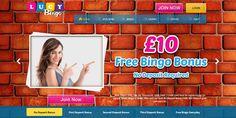 lucy bingo offers £10 free No Deposit Bingo Bonus plus 500% Bingo Bonus , and is powered by Dragonfish software. Join now at lucy bingo