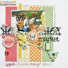 farmers market - *Echo Park For the Record 2: Tailored - Scrapbook.com