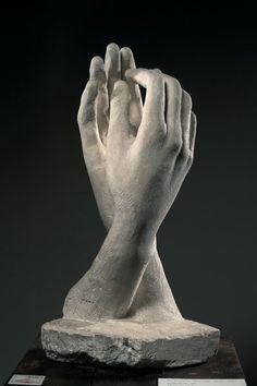 Auguste Rodin: The Cathedral, Musée Rodin, Paris - Photo : Christian Baraja Auguste Rodin, Musée Rodin, Hand Sculpture, Sculptures Céramiques, Modern Sculpture, Sculpture Rodin, Abstract Sculpture, Bronze Sculpture, Camille Claudel