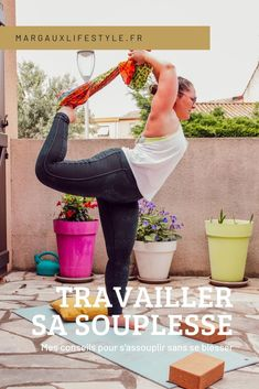 Mes conseils pour travailler sa souplesse - Margaux Lifestyle Bell Bottoms, Muscles, Bell Bottom Jeans, Fitness, Yoga, Lifestyle, Stretching, Sports, Back Walkover
