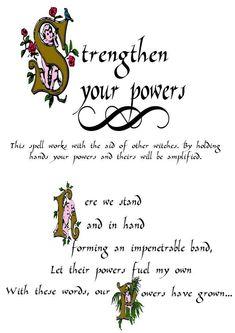 Strengthen your powers #Magick