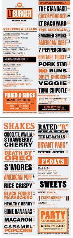 Menu Design Ideas restaurant menu design Lt Burger Menu American Puff Milkshake Is The Best