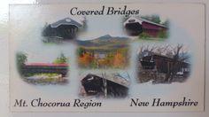 USA - New Hampshire, les ponts couverts, offert par mon beau-frère et ma belle-soeur