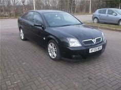 Used 2005 (05 reg) Black Vauxhall Vectra 1.9 CDTi 16V SRi [150] 5dr for sale on RAC Cars