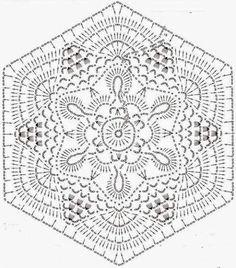 /схема шестиугольного мотива