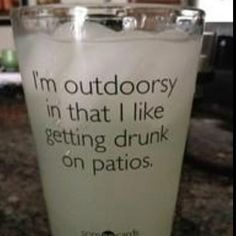 I need this for my after work beverages and poolside drinks