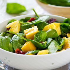 Salada Verde com Manga