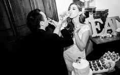 www.ostaraphotography.com, ©Ostara Photography, bride and groom, champagne toast, cake cutting