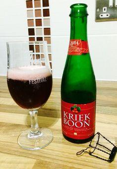 Boon Kriek cherry lambic beer