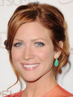 Brittany Snow At the Art of Elysium Gala. The New Red Hues From the red carpets to the runways, crimson shades are taking over. See how here, the A-list is rocking the new rosy strands. I want her hair color! Brittany Snow Hair, Natural Hair Styles, Short Hair Styles, Red Hair Color, Hair Colors, Hair Affair, Pretty Hairstyles, Redhead Hairstyles, New Hair