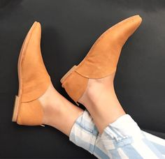 Rilee Shoes Modern & minimal casual pointy toe ballet loafer