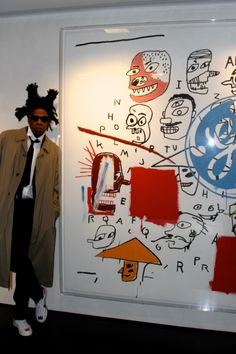 Jean-Michel Basquiat & Andy Warhol use of colour. Jean Basquiat, Jean Michel Basquiat Art, Tachisme, Andy Warhol, Basquiat Paintings, Radiant Child, Pop Art, Graffiti, Outsider Art