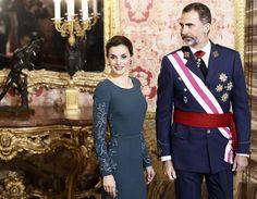 Los reyes Felipe y Letizia inauguran su agenda de 2017 presidiendo la Pascua Militar