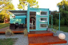 SA container: container house: 3 Cases Charmosos from 30 m² to 60 m²