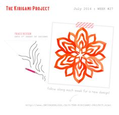 Omiyage Blogs: The Kirigami Project - Week 27 - Campfire
