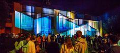 Über 12.000 Zuschauer beim Fassadenprojektionsfestival Genius Loci Weimar