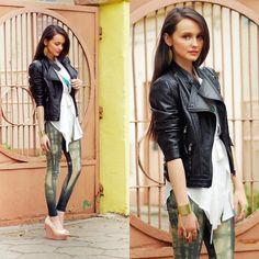 LOVELYSALLY leggings (by Karolina Ościk) http://lookbook.nu/look/3598535-LOVELYSALLY-leggings