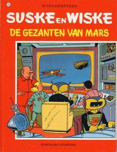 Suske en Wiske no.  - De gezanten van Mars door Willy Vandersteen (Standaard uitgeverij)