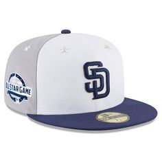009dc9870d Get pumped up and ready for All-Star Week festivities when you grab this  San Diego Padres 2018 MLB All-Star Game On-Field Fitted Hat from New Era.