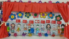 23 NİSAN Art For Kids, Crafts For Kids, Arts And Crafts, Class Decoration, Color Crafts, Child Day, Paper Gifts, Paper Plates, Art Education