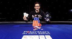 Saia sfila la picca a Suriano e vince l'Italian Poker Tour Nova Gorica