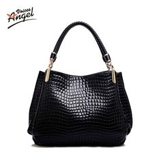 VANDERWAH Bolsas Feminina Women Handbags Hot Sale Brand Shoulder bags High  quility PU Leather Crocodile Pattern 9e705d8f681f7