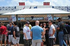 Each spring, look for the Texas Beer Fest, where 70 different beer brewers, 23 of them from Texas, pour a 2-ounce samples or a full 12-ounce beer in exchange for prepaid tickets. Get your tickets as you enter for (12 tix for 12-bucks), and a plastic pint cup to call your own. Each beer sample is one ticket, or six for a full beer. You'll find cool stouts, ales, porters, strawberry beers, orange blossom beers, black foamy beers - you name it.