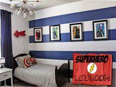 99+ Superheroes Bedroom Decor - Interior Paint Colors 2017 Check more at http://www.soarority.com/superheroes-bedroom-decor/