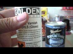 ▶ Polymer Clay Glazes Reveiw - YouTube
