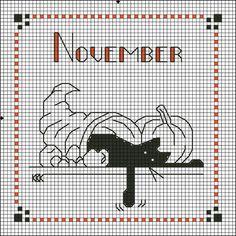 Gallery.ru / Фото #21 - Календарь черного кота - nataz