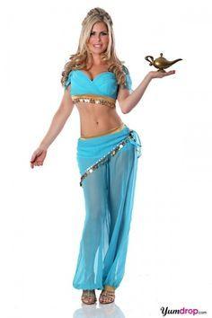 Cute genie costume