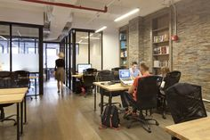 Cowork|rs is a New York City-based coworking space that allows entrepreneursand startupsto workin a modern office environment. Cowork|rs operates three floors of the building located in Manhattan's Flatiron neighborhood, each ... Read More