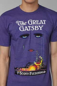 76d097a8abed0a Urban Outfitters - Out Of Print The Great Gatsby Tee