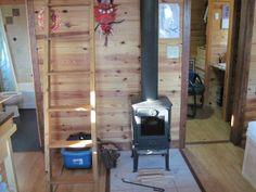 I love tiny house wood burning stoves.