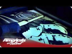 Patriotic Sand Art - Season 7 Joe Castillo Audition. #AGT - via http://newsmix.me