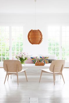A SWEDISH WHITE HOME WITH BITS OF COLOR | THE STYLE FILES