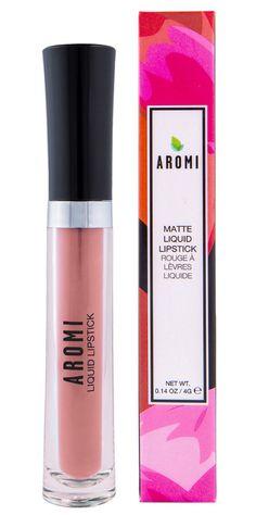 Aromi - Sand Nude Matte Liquid Lipstick, $17.00 (http://www.aromibeauty.com/sand-nude-matte-liquid-lipstick/)