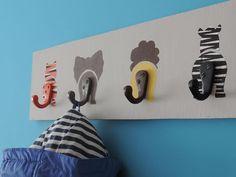 Idees per decorar la paret de l'habitació infantil / @totnens #decoracioinfantil