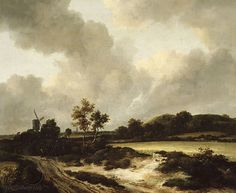 Jan van Goyen - Grainfields ca 1665 - Jan van Goyen
