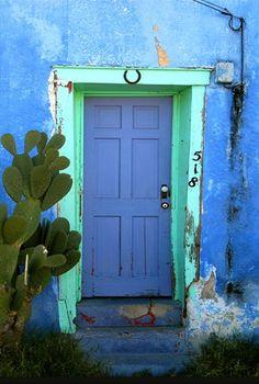 Tucson Blue Door