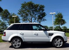 2013 Land Rover Range Rover Sport, Fuji White. White or black. But I will take it in any way shape or form....