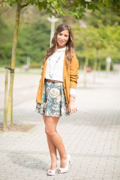 Flowers Skirt By Leyre Benito